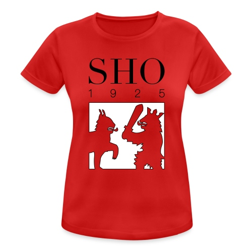 SHO 1925 - naisten tekninen t-paita