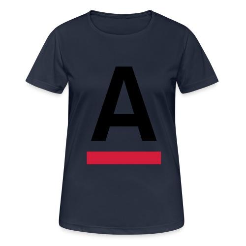 Alliansfritt Sverige A logo 2013 Färg - Andningsaktiv T-shirt dam