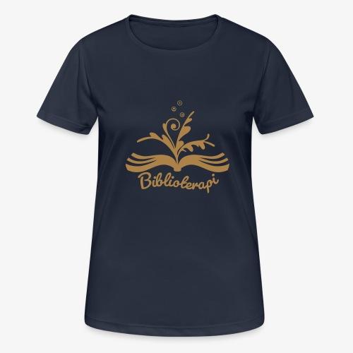 Biblioterapi - börja så! - Andningsaktiv T-shirt dam