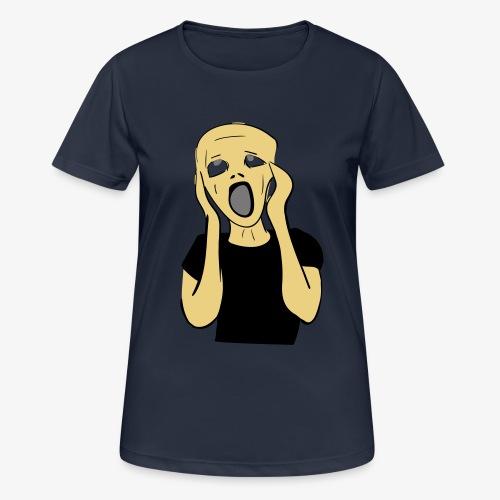 HUUTAJA - naisten tekninen t-paita
