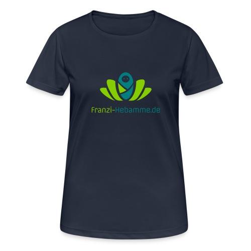 Franzi-Hebamme.de - 2fbg - Frauen T-Shirt atmungsaktiv