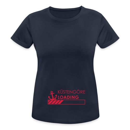 Küstengöre loading - Frauen T-Shirt atmungsaktiv