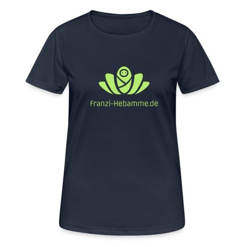 Franzi-Hebamme.de - Frauen T-Shirt atmungsaktiv