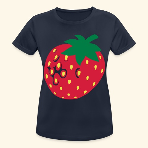 Erdbeere - Frauen T-Shirt atmungsaktiv