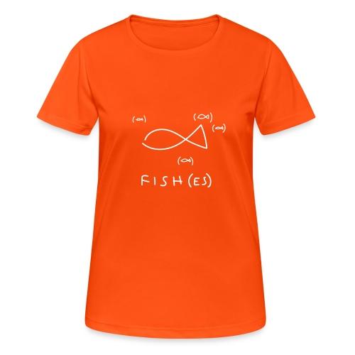 fish (es) - Maglietta da donna traspirante