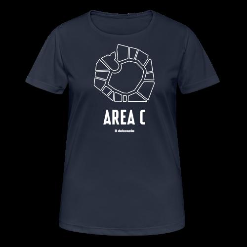 AREA C - Maglietta da donna traspirante