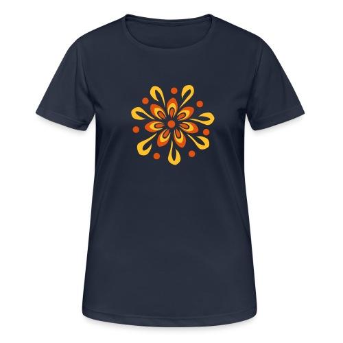 flowerpower - Frauen T-Shirt atmungsaktiv
