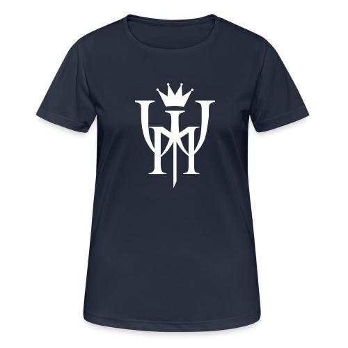 Logo MW białe - Koszulka damska oddychająca