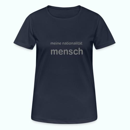 nationalität mensch v 170 - Frauen T-Shirt atmungsaktiv