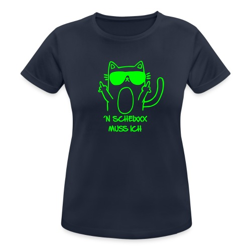 Vorschau: n scheixxx muss ich - Frauen T-Shirt atmungsaktiv