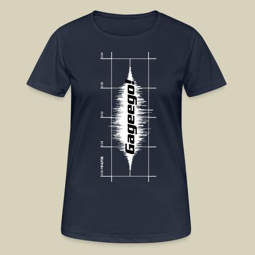 Gageego-logga lodrät - Andningsaktiv T-shirt dam