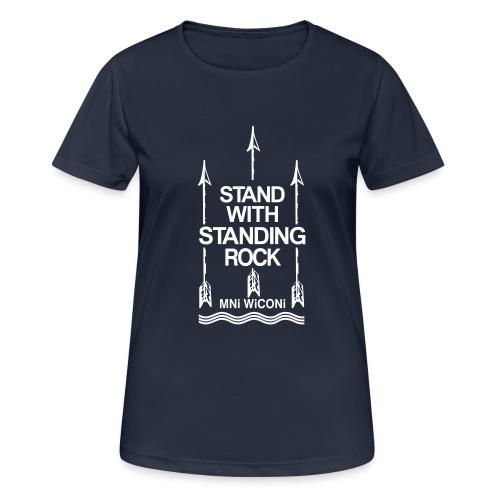 Stand - Dame T-shirt svedtransporterende