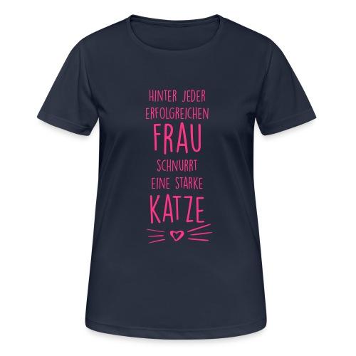 Vorschau: erfolgreiche frau - Frauen T-Shirt atmungsaktiv