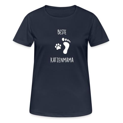 Vorschau: Beste Katzenmama - Frauen T-Shirt atmungsaktiv