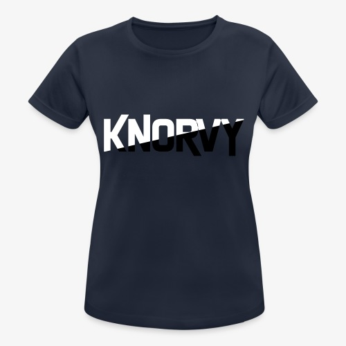 KNORVY - Vrouwen T-shirt ademend actief