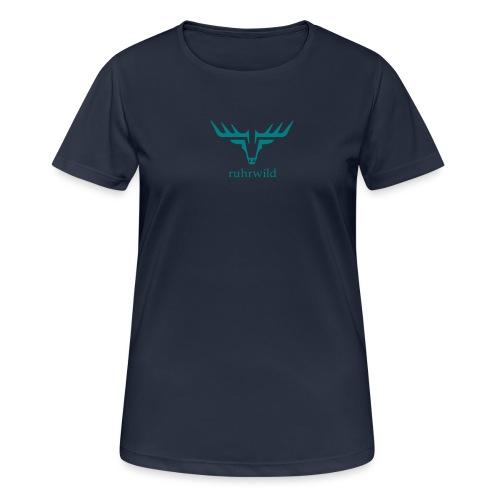 ruhrwild hirsch - Frauen T-Shirt atmungsaktiv