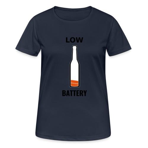 Beer Low Battery - T-shirt respirant Femme