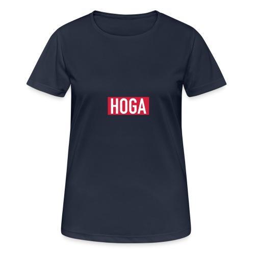 HOGAREDBOX - Pustende T-skjorte for kvinner