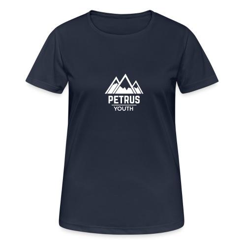 Petrus Logo 2K17 - naisten tekninen t-paita