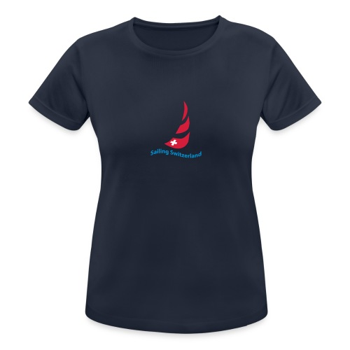 logo sailing switzerland - Frauen T-Shirt atmungsaktiv