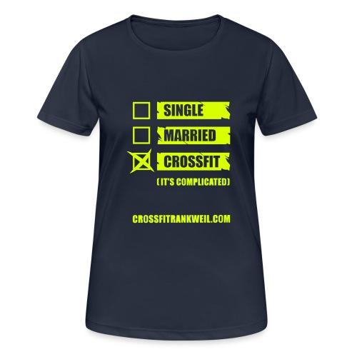 Single Married - Frauen T-Shirt atmungsaktiv