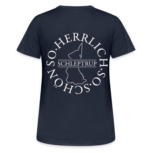 Schleptruper Ring - Frauen T-Shirt atmungsaktiv