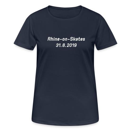 2019 - Frauen T-Shirt atmungsaktiv