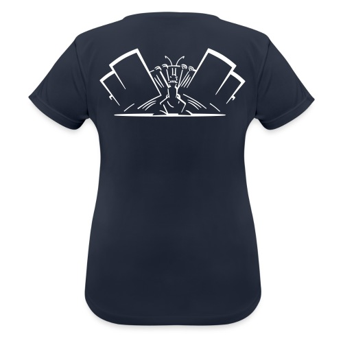 Power Ant Night - Frauen T-Shirt atmungsaktiv
