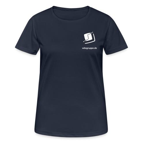 WBS Front Vektor - Frauen T-Shirt atmungsaktiv