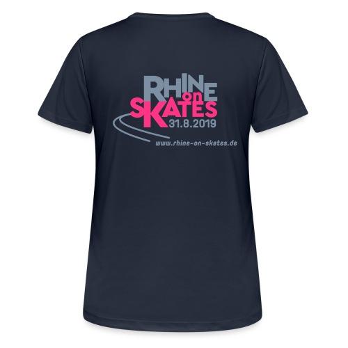 rhine-on-skates-19_Minima - Frauen T-Shirt atmungsaktiv