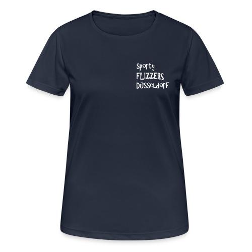 sfd_flizzer_ohne_fb_mit_g - Frauen T-Shirt atmungsaktiv