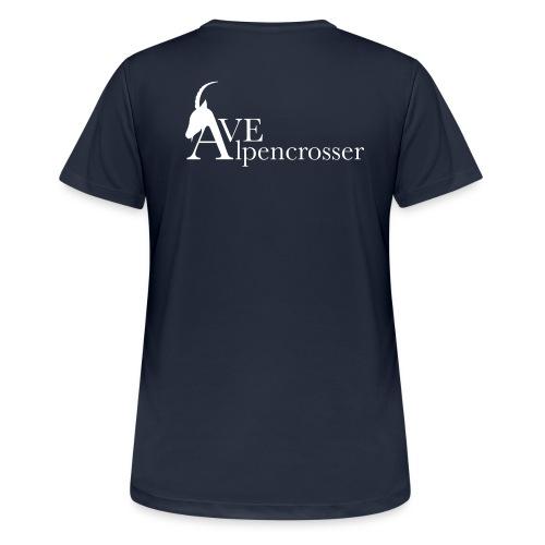 ave alpencrosser - Frauen T-Shirt atmungsaktiv