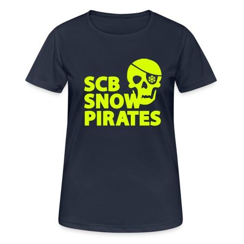 Logo_SCB_SnowPirates - Frauen T-Shirt atmungsaktiv