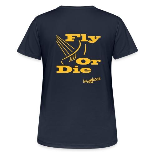 flyordie - Frauen T-Shirt atmungsaktiv