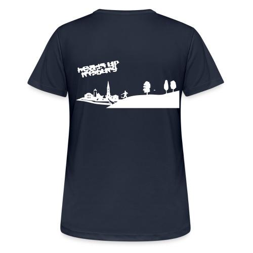 HeadsUpLeagueDayDesign - Frauen T-Shirt atmungsaktiv