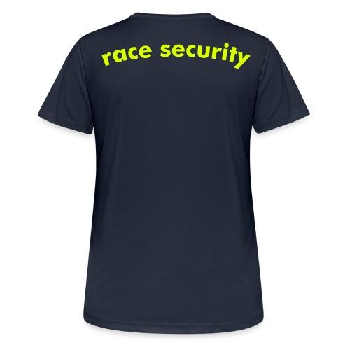 race security - Frauen T-Shirt atmungsaktiv