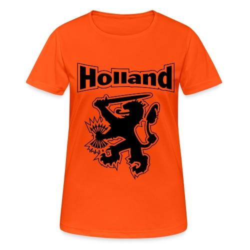 leeuwholland - Vrouwen T-shirt ademend actief