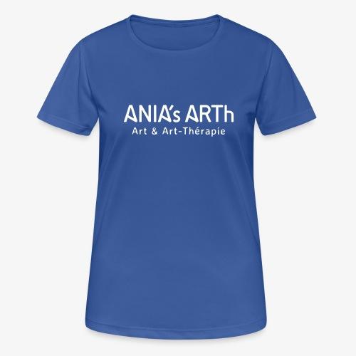 ANIA's ARTh Logo - Frauen T-Shirt atmungsaktiv