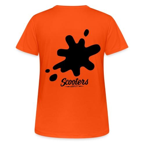 DL oil - T-shirt respirant Femme