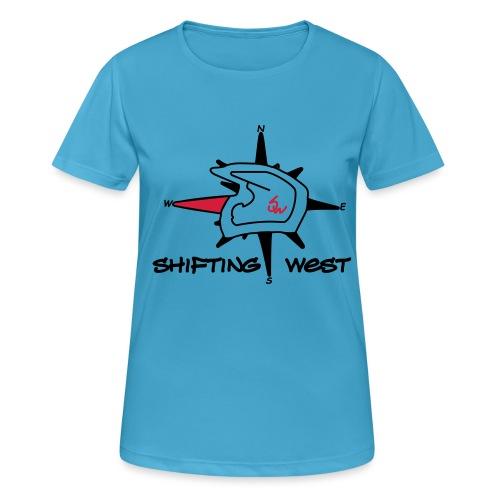 Shifting West Logo vector - Vrouwen T-shirt ademend actief