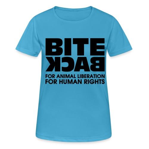 Bite Back logo - vrouwen T-shirt ademend