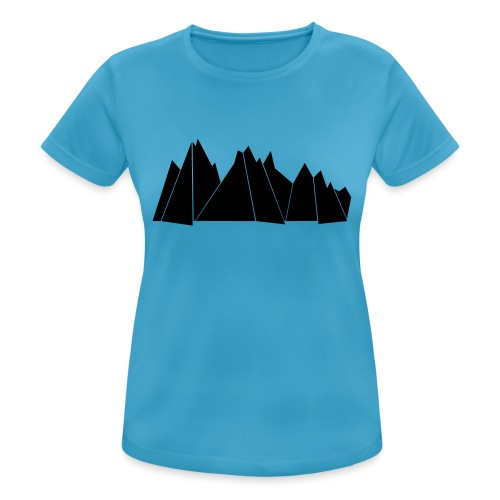 BlackMountains - Frauen T-Shirt atmungsaktiv