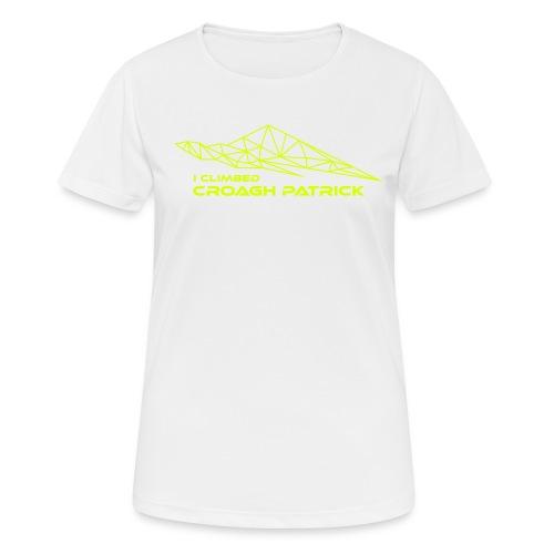 I climbed Croagh Patrick Geometric Design - Women's Breathable T-Shirt