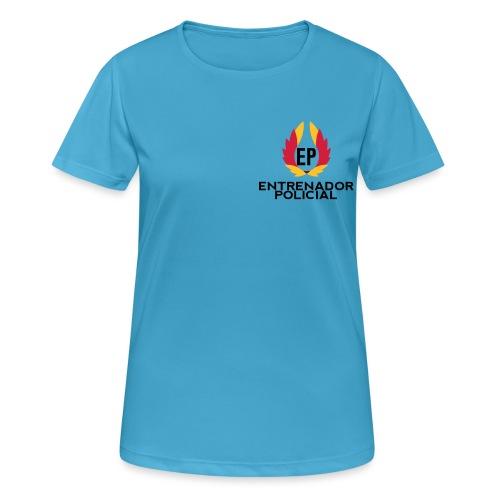 EntrenadorPolicial - Camiseta mujer transpirable