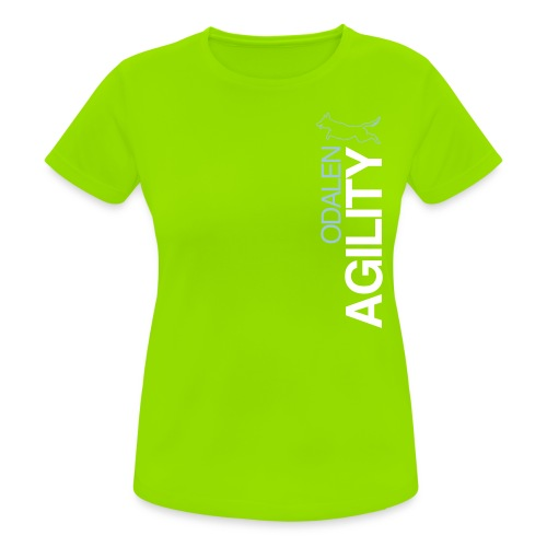 odalen agility blue1 - Women's Breathable T-Shirt