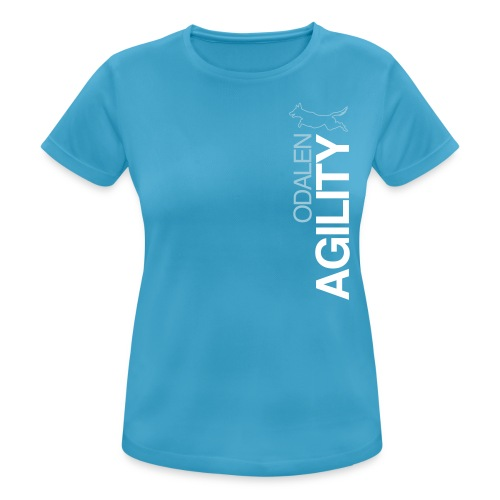 odalen agility blue1 - Women's Breathable T-Shirt