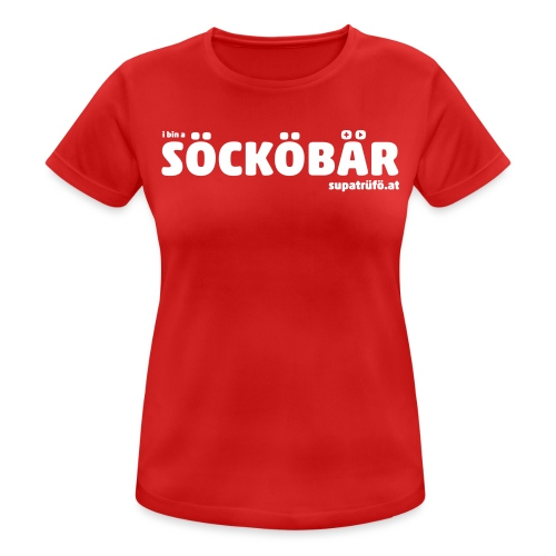 supatrüfö söcköbär - Frauen T-Shirt atmungsaktiv