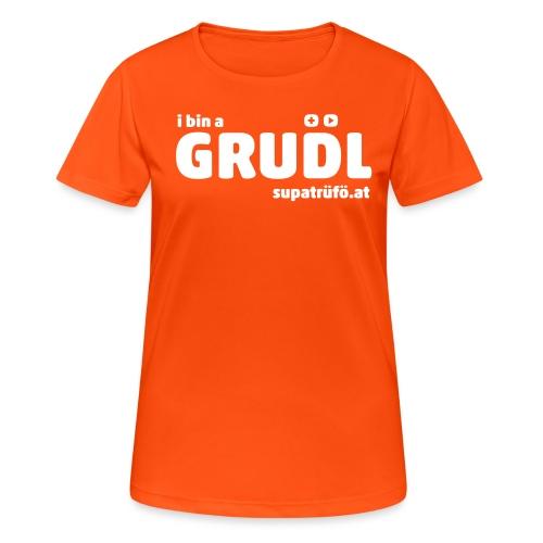 supatrüfö grudl - Frauen T-Shirt atmungsaktiv