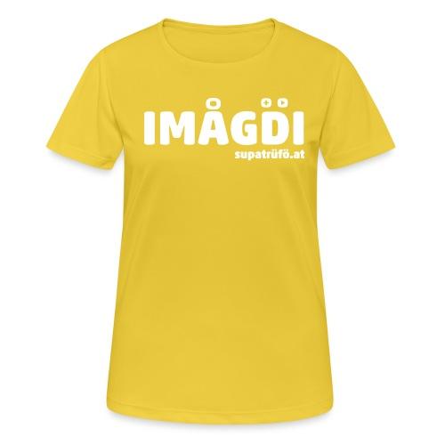 supatrüfö IMOGDI - Frauen T-Shirt atmungsaktiv