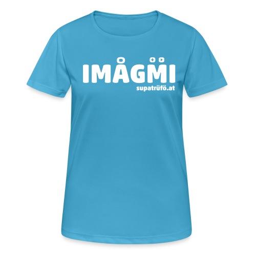 supatrüfö IMOGMI - Frauen T-Shirt atmungsaktiv